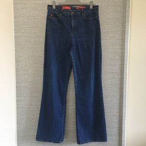 NYDJ Tummy Tuck Jeans High Rise Straight Leg 4